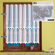 Zazdrostka woal haftowany 9502/45cm