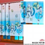 Firanka dziecięca na woalu TOY STORY wys.210 cm x4,50 m szer